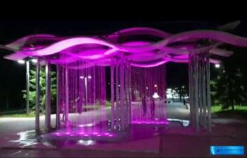 Cветодинамичный фонтан «Волны» г.Бугульма