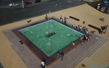 фонтан в г. Чебаксары